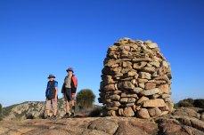 Barn Hill Summit cairn, Deal Island