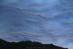 Cumulonimbus Mammatus at Bathurst Harbour, SW Tasmania