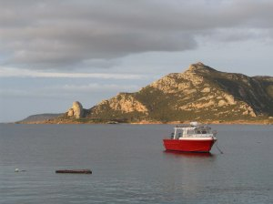 The Old Man's Head at Killiecrankie Bay, Flinders Island