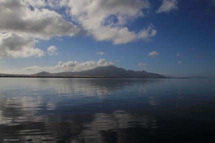 Strzelecki Peaks at Flinders Island