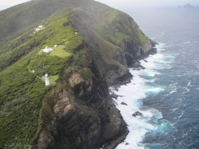 Maatsuyker Island from the air