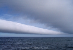 Wave cloud off Wineglass Bay