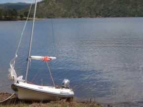 Sail kit for the dinghy