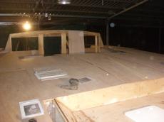 Dance floor coming along!