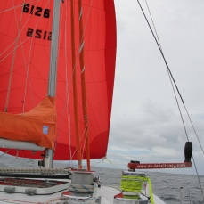 Big Red sailing