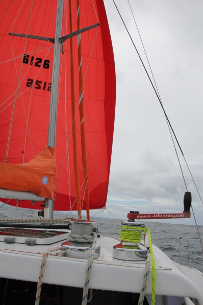 Big Red sailing