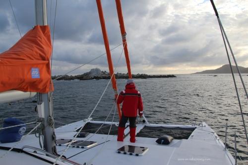 Skerries anchorage
