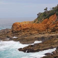 Beautiful cliffs at Bermagui