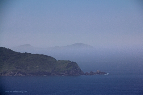 Broughton Island in the mist, like a Chinese watercolour