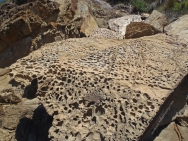 Honeycomb rocks