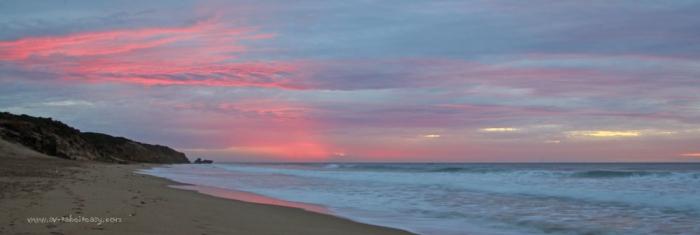 Jan Juc Sunrise taken at 7.17am. 0.8sec, F20, 33mm focal length, tripod.