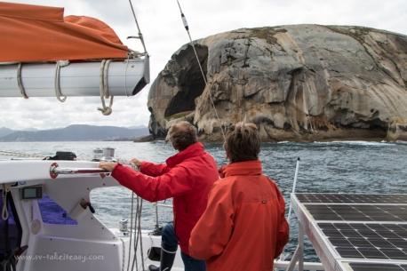 Rounding Cleft Island