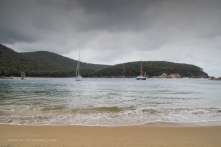 Anchored at Refuge Cove