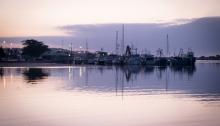 Lakes Entrance at dawn