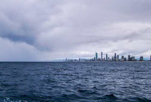 Gold Coast high rises on the horizon