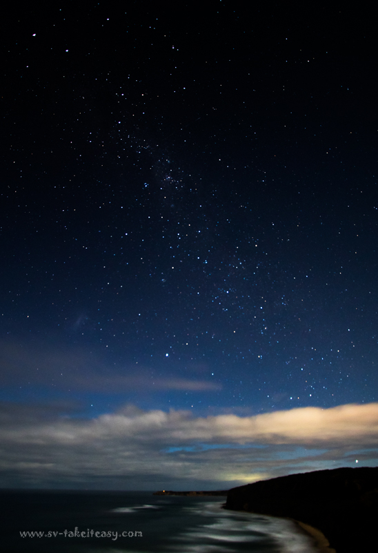 Milky Way at Bells Beach