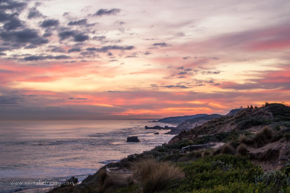 Mornington Coast Sunset