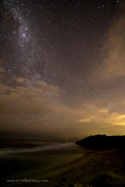 Milky Way at Pearse Road Beach