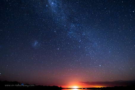 Milky Way over Langford, Gippsland lakes