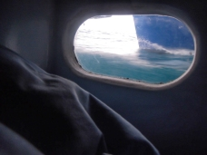 Room with a view - Merv's cabin porthole