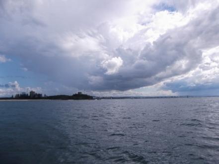 Approaching the Sunshine Coast