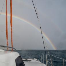 Rainbow at Lady Eliott