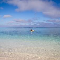 Turquoise waters at Lady Elliott Island..