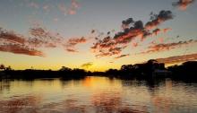 Mooloolaba River Sunset