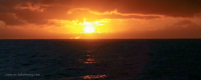 Sunrise at Stradbroke Island