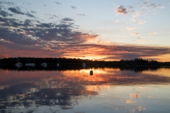 Tin Can Bay sunset