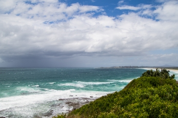 Clarence Head from the Iluka Bluff