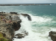 Wild weather at Yamba