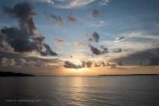 Sunrise on the Wide Bay Bar