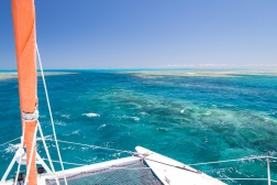 Arrival at Fitzroy Reef