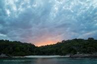 Stormy sunset at Bittangabee