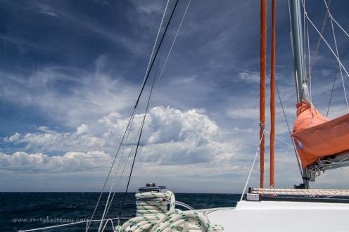 Unforecast change in Bass Strait