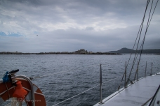 Anchored at the Skerries