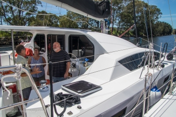 Rafted up with Exhale on the Moruya River