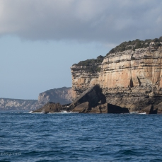 The tall cliffs of Jervis Bay