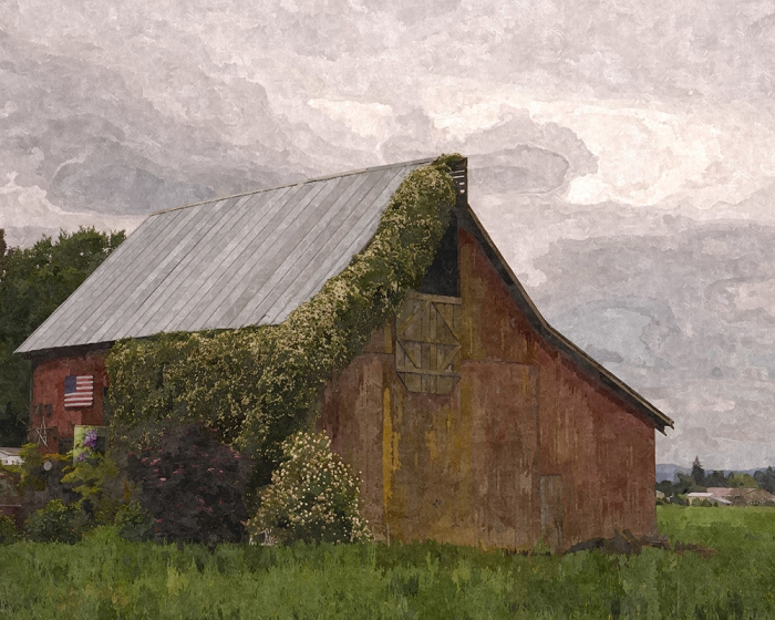 Barn Oil Painting_small