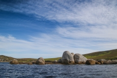 Hogan Island boulders