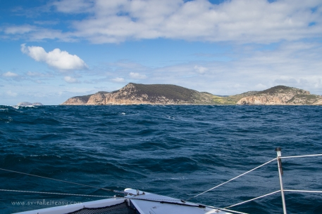 Approaching Deal Island