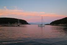 Sunset at Refuge Cove