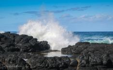 Black Basalt of Phillip Island south coast