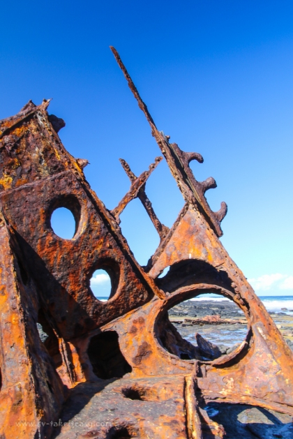 Shipwreck of SS Speke, Kitty Miller Bay