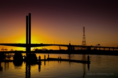 Bolte Bridge at Sunset