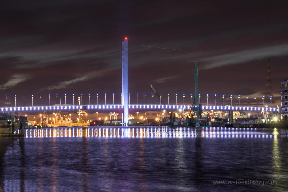 Bolte Bridge at blue hour