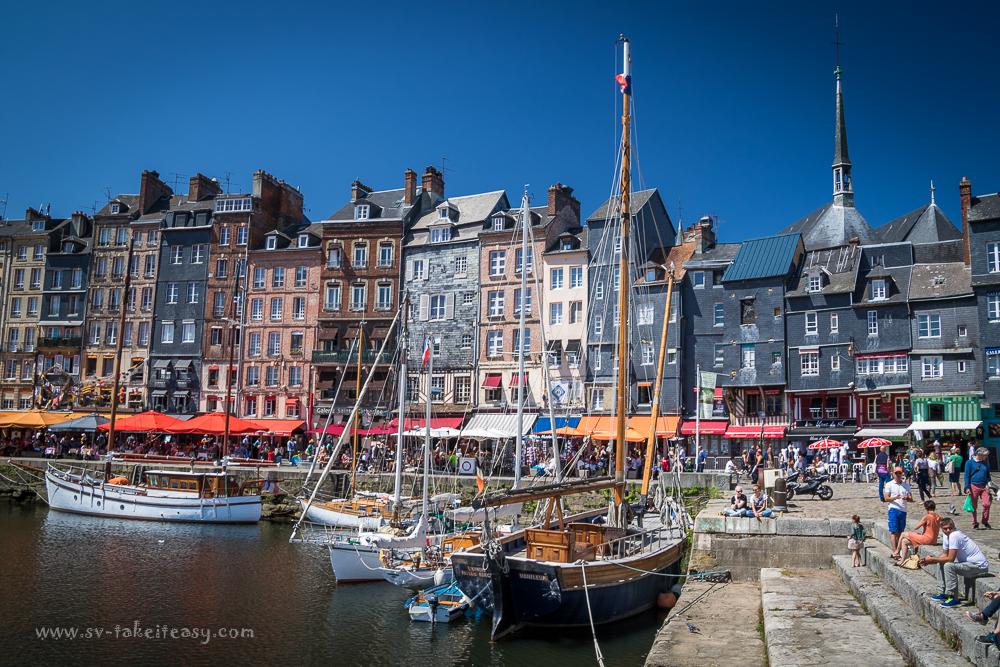 Honfleur - Le Vieux Bassin