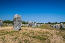 Alignment of Menhirs