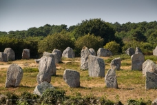 Menhirs from the Menec site